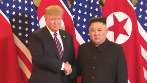 US announces first new North Korea sanctions since failed summit