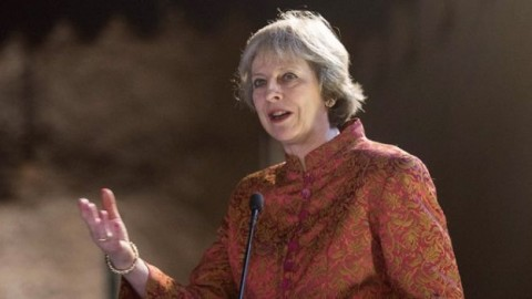 Theresa May'clear-eyed' on Iran threat